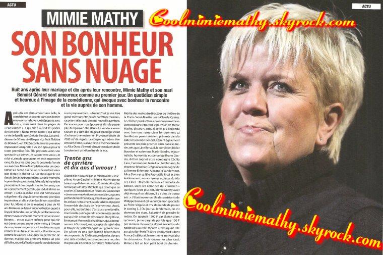 Magazine presse/interview  France stars n°20 janvier/février 2014