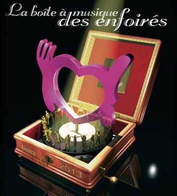 Les restos du coeur - Les Enfoirés  Paris - Bercy 2013  La Boîte à Musique des Enfoirés