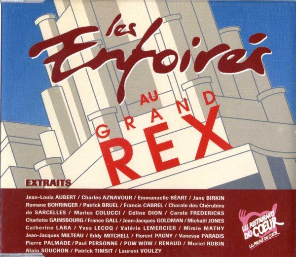 Les restos du coeur - Les Enfoirés  Paris - Grand Rex + 1994  Les Enfoirés au Grand Rex