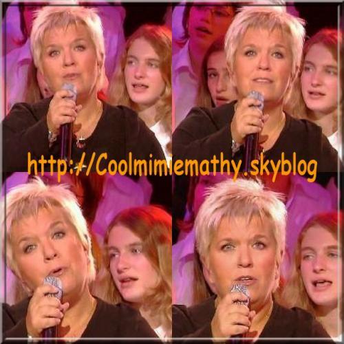 Article presse/interview Mimie Mathy, un album début 2007