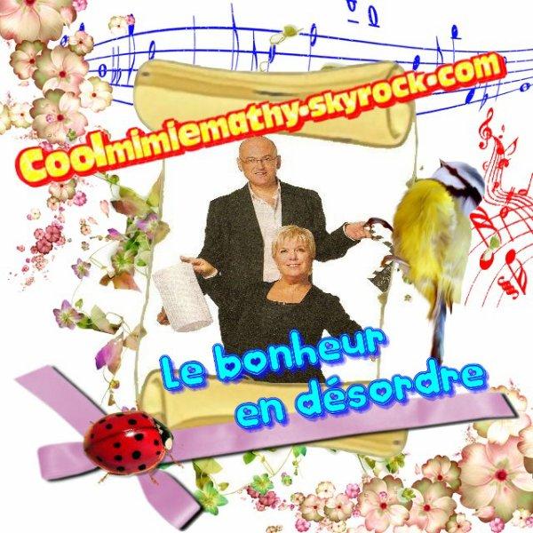 """1er album Solo """"La vie m'a raconté""""    ❤ Le bonheur en désordre ❤"""