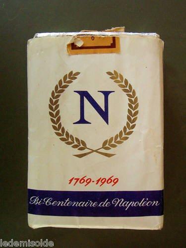 les cigarettes Bastos pour le bicentenaire de la naissance de l'empereur