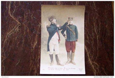 Napoléon sur carte postale guerre 14/18