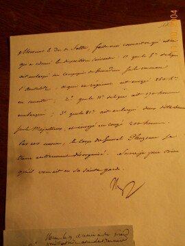 Des écrits de Napoléon sauvés in extremis !