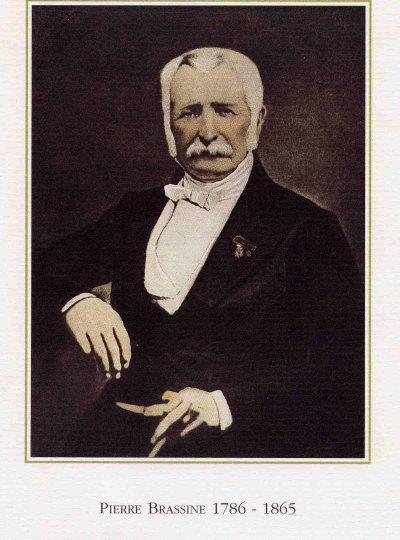 états de service de Pierre, Brassine (1786 - 1865)