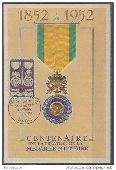 centenaire de la création de la médaille militaire