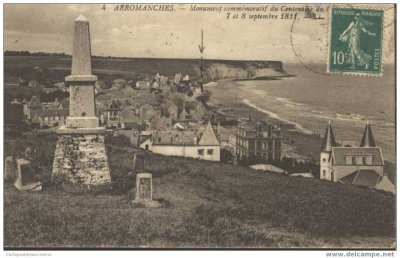 centenaire du combat naval des 7 et 8 septembre 1811 à Arromanches (14)