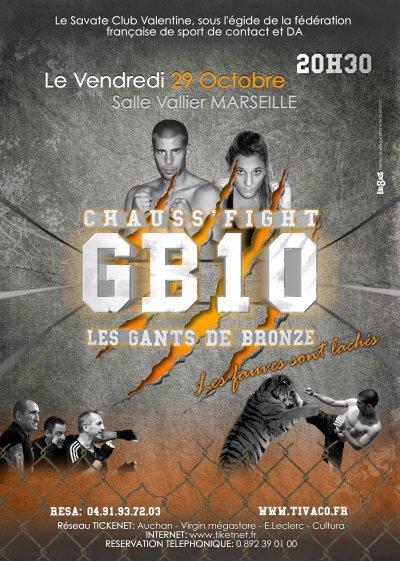 Les GB10: Grand gala de Chauss' Fight à Marseille
