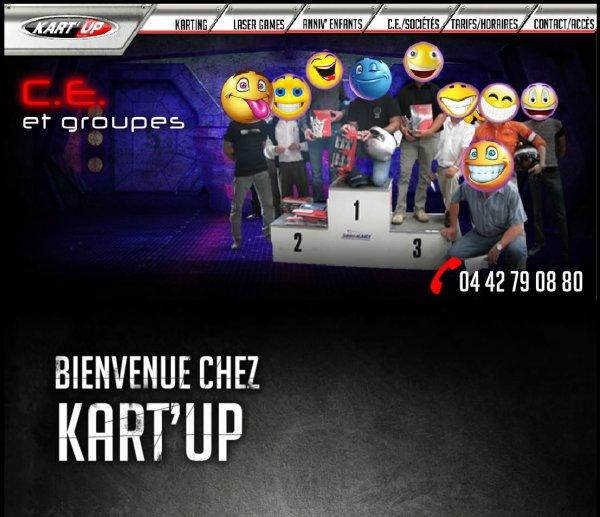 Nouveau site Kart'Up