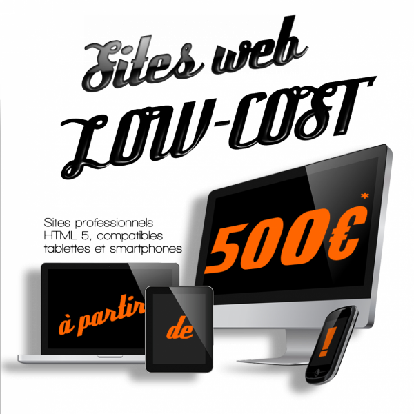 Sites Internet Low cost Prix bas !