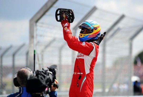 Course _ Grande Bretagne : Alonso met tout le monde d'accord