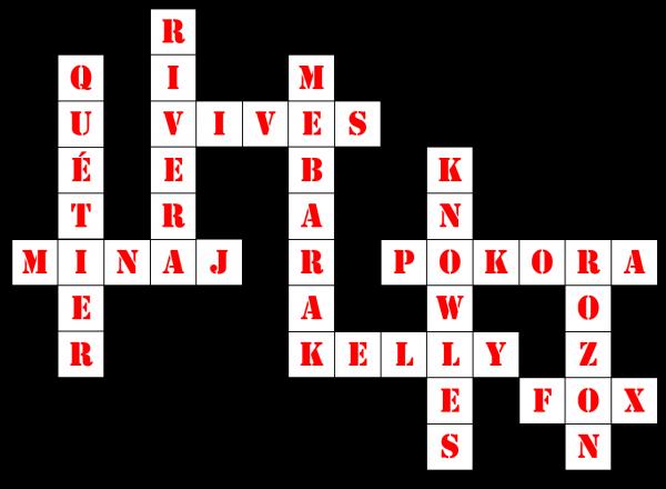 Activité n°11 - Mots Croisés