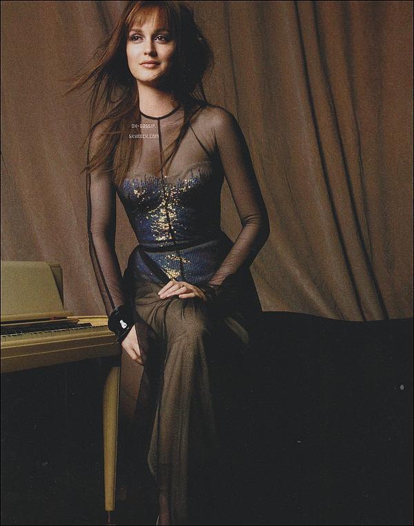 . Après le photoshoot, découvrez les scans  du magazine Marie Claire d'avril 2012 J'aime vraiment tous ces scans, je pense que ce photoshoot pour Marie Claire est l'un des mes favoris de Leighton, elle est sublime ! .