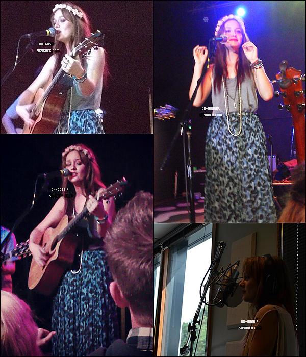. 31/05/12 | En ce dernier jour du mois de mai, Leigh' et le groupe Check in the Dark étaient à Portland. .