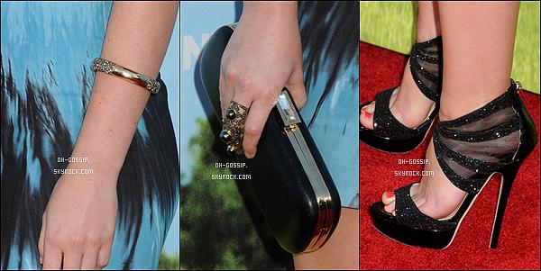 . 04/06/12 | Leighton Meester à la première de son dernier film « That's My Boy » à Los Angeles.   Cette fois-ci c'est un top pour Miss Leighton Meester, j'adore ses chaussures et sa coupe de cheveux mais un peu moins sa robe. .