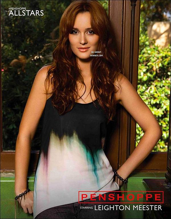 . Voici une nouvelle photo pour la campagne publicitaire de Penshoppe All Stars .