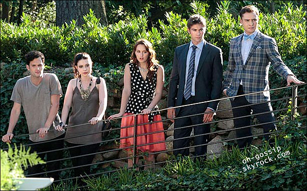 . Découvrez un second still de l'épisode 6x01 de Gossip Girl « Gone Maybe Gone » .