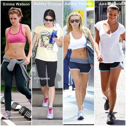 Les stars et la gym ...