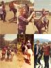 02.05.2012  :  Demi Lovato a fait une promenade  à cheval avec son équipe, à Mexico