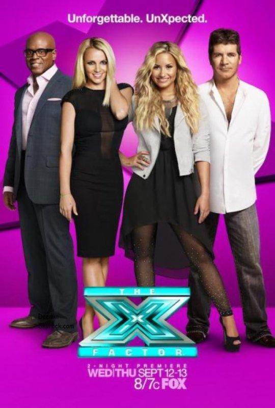 Voici une photo promotionnelle pour X Factor vous aimez ?