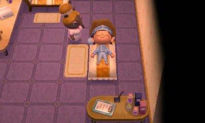 Dans mon salon de détente .