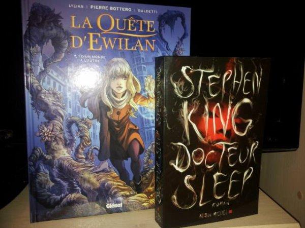 [BAL 31/10/13] Docteur Sleep et La Quête d'Ewilan (BD)