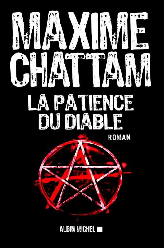 *Couverture* La Patience du Diable de Maxime Chattam
