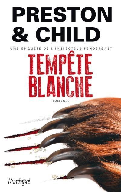 Tempête Blanche de Preston & Child