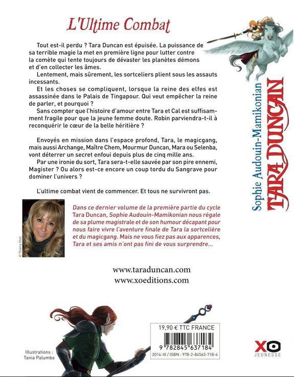 Tara Duncan T12 : L'Ultime Combat de Sophie Audouin-Mamikonian