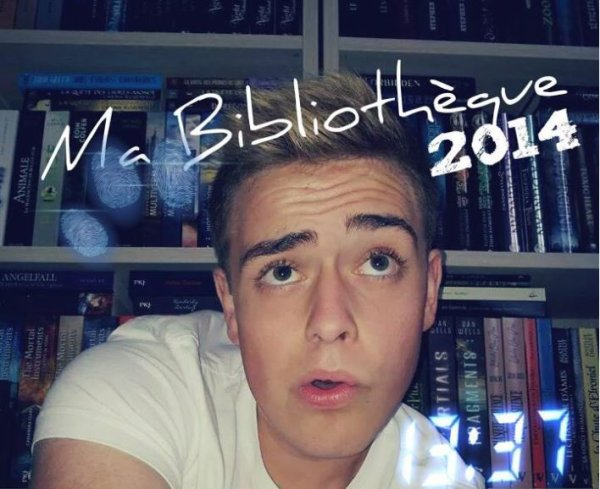[ VIDEO YOUTUBE ] MA BIBLIOTHEQUE 2014