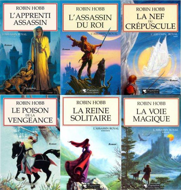 L'Assassin Royal de Robin Hobb (1er cycle, tomes 1 à 6 pour les éditions françaises)
