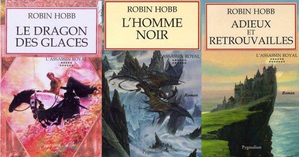 L'Assassin Royal de Robin Hobb (2ème cycle, tome 7 à 13 pour les éditions françaises)