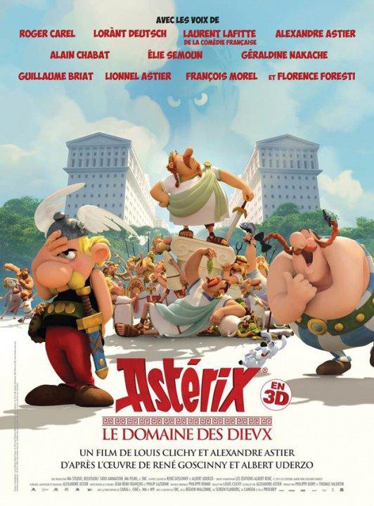 Astérix et le Domaine des Dievx réalisé par Alexandre Astier