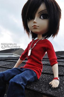 Photographie 1 : Jason - Photographie 2 : Mizuko and the little bird