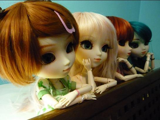 Les jeunes Demoiselles