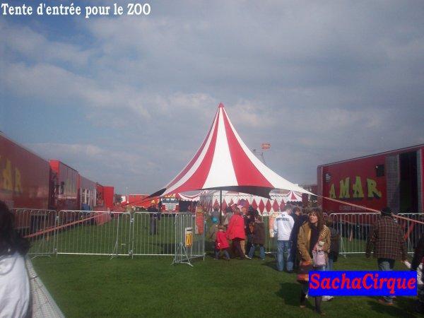 Cirque AMAR à Dieppe, Dimanche 11 Avril 2010.