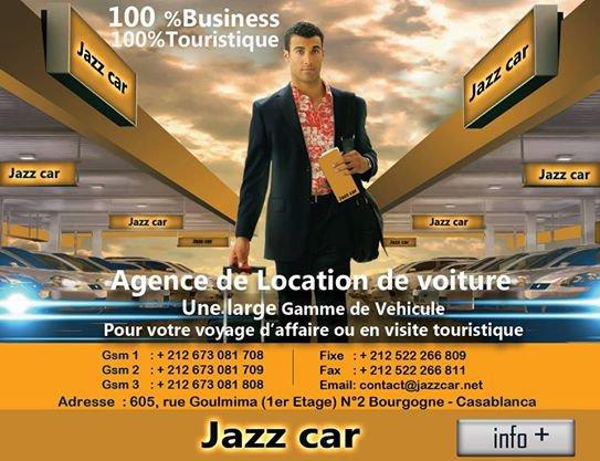 jazz car services pour entreprises