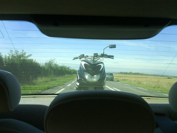 le nouveau nitro sur la route :)