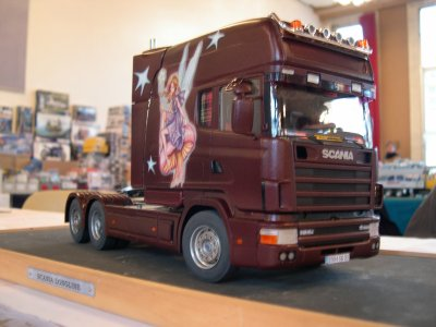 Scania Longline scratch