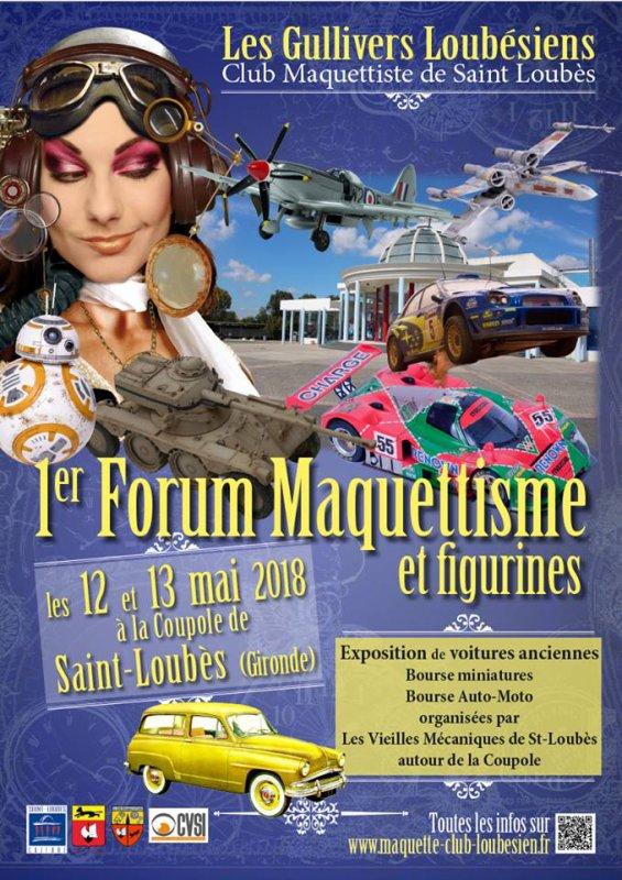 FORUM MAQUETTISME ET FIGURINES - ST LOUBES - 1/11