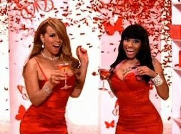 Mariah Carey et Nicki Minaj