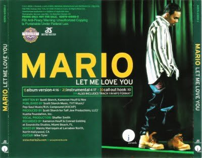 Album Mario Winans Let Me Love You