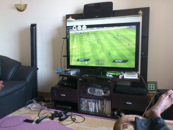En mode PS3 à l amaison
