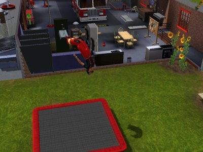La caserne de pompier(ou Justin travaille)
