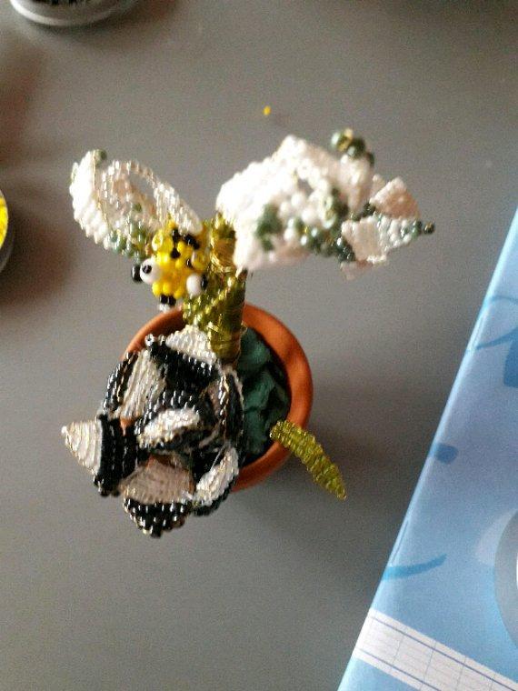 Voilà mes créations en perles de rocaille