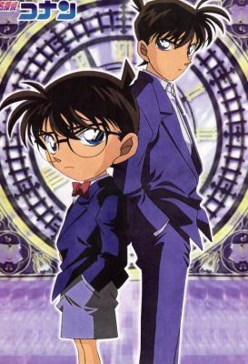 SHINICHI KUDO alias CONAN EDOGAWA (Détective lycéen)