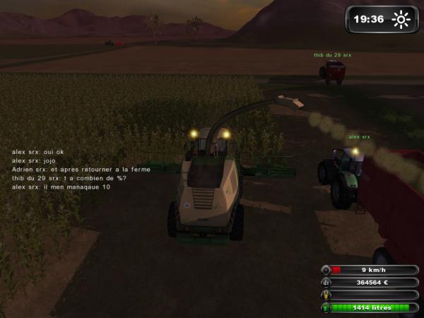 ensilage maïs multi joueur