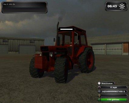tracteur du petit jeu
