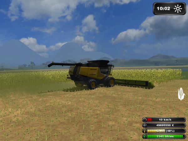 moisson maïs