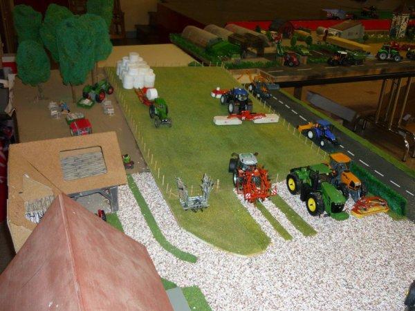 chantier d'herbe